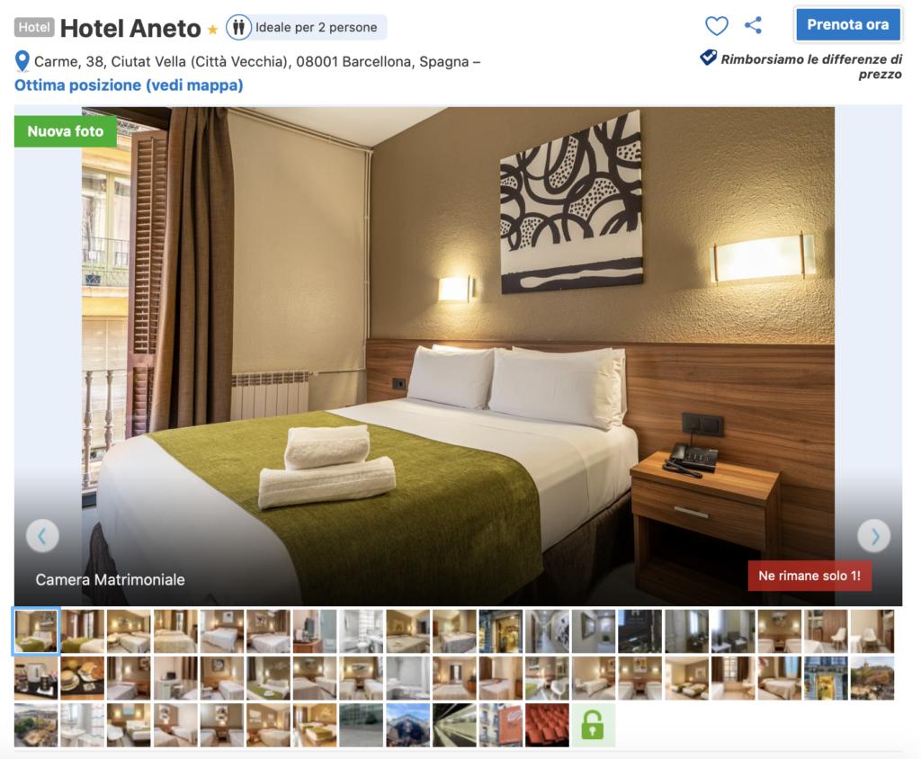 Hotel Aneto Barcellona