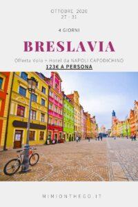 BRESLAVIA offerta volo hotel