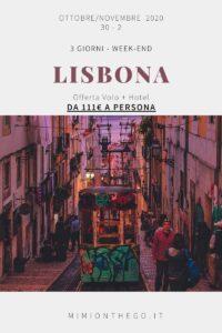 Lisbona offerta volo hotel