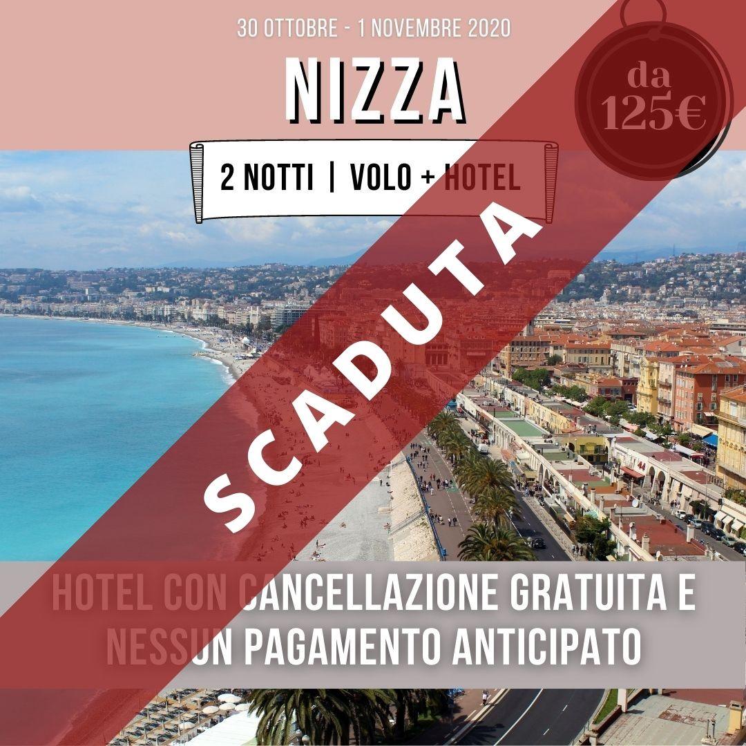 Nizza offerta volo + hotel