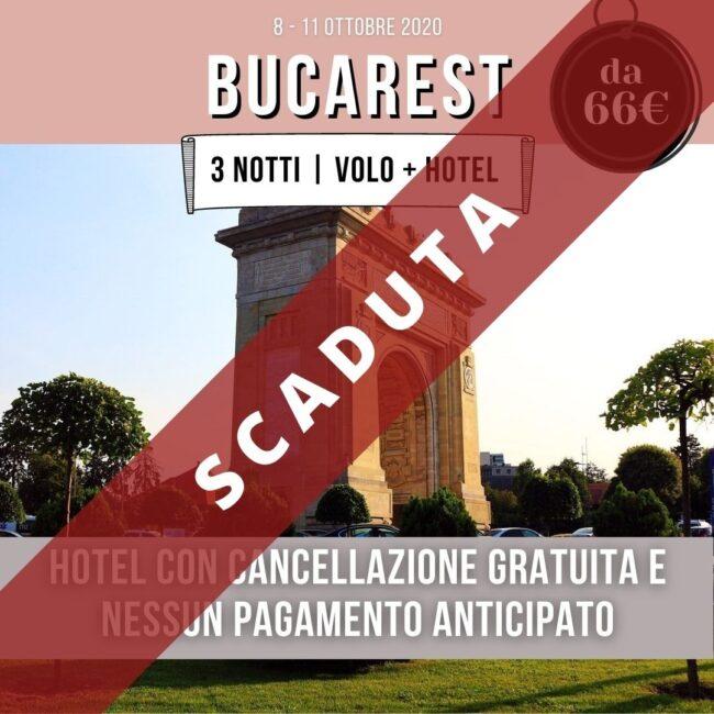 bucarest offerta volo + hotel
