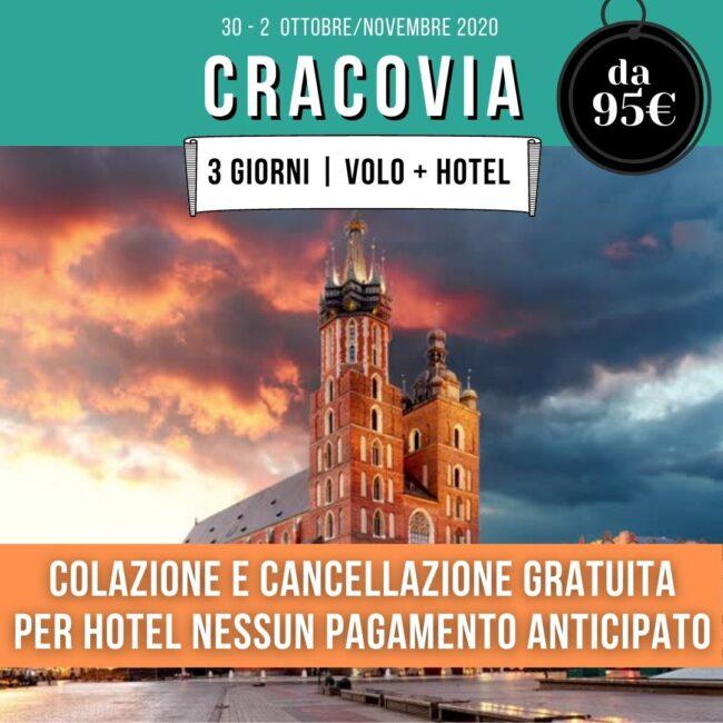cracovia-offerta-volo-hotel