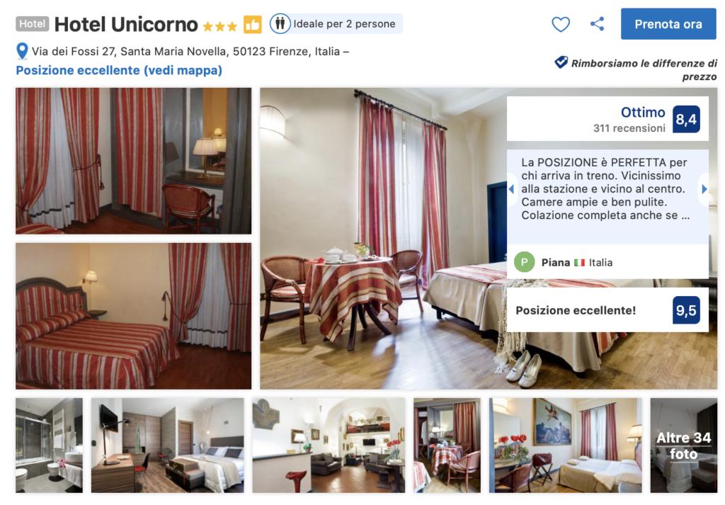 hotel unicorno firenze