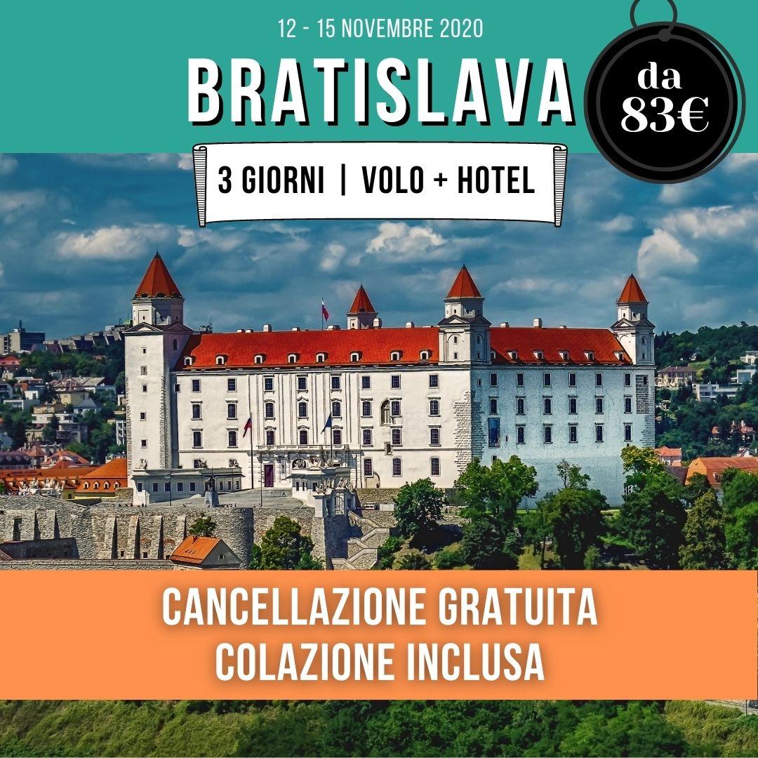 bratislava-offerta-volo-hotel
