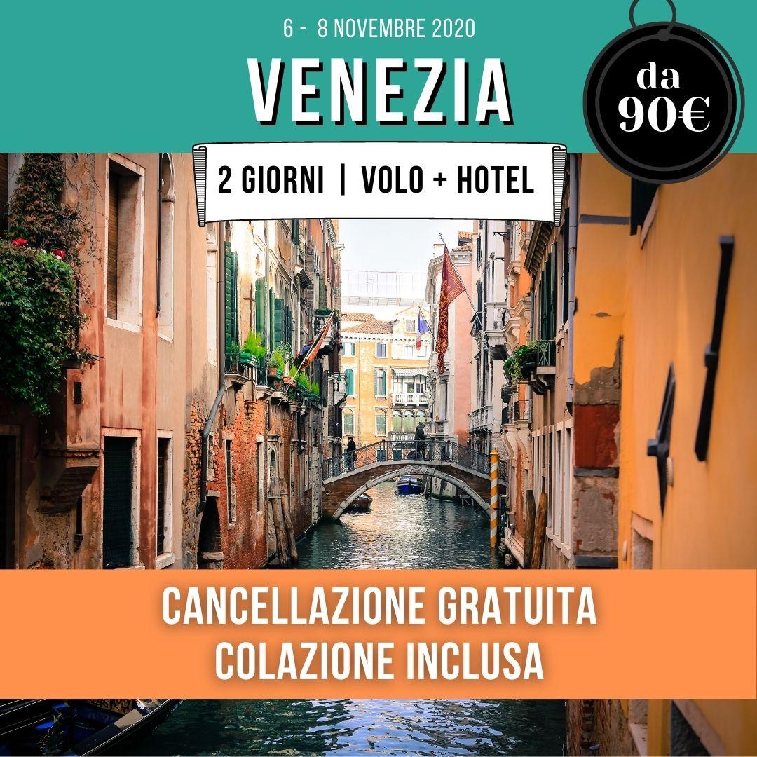 offerte Venezia volo hotel