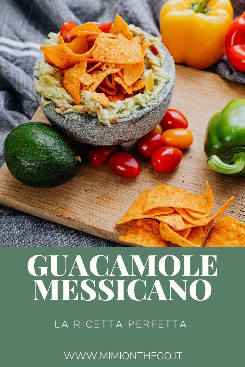 guacamole messicano ricetta perfetta